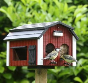 Wildlife-Garden-Fuglefoderhus-Lade
