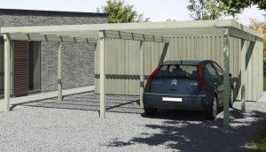 Xl byg carport | Møbler til terrassen og haven
