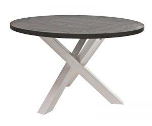 Spisebord rundt med uttrekk