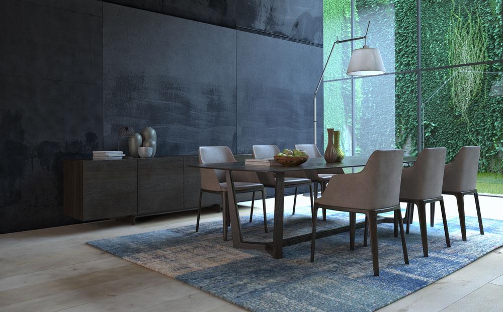 Spisebordsstol med armlæn   17 flotte stole med armlæn