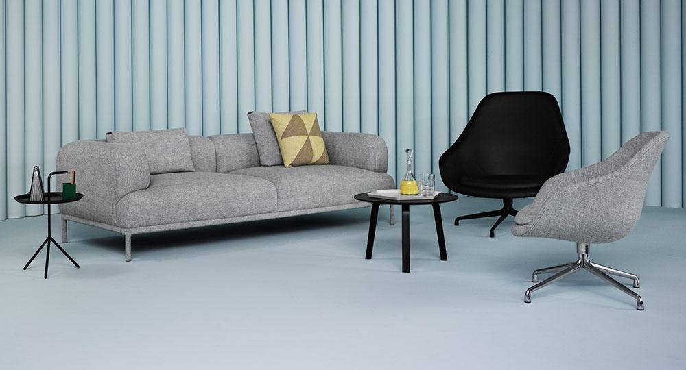 Drejestol i stof eller læder - 10 smarte stole til stuen