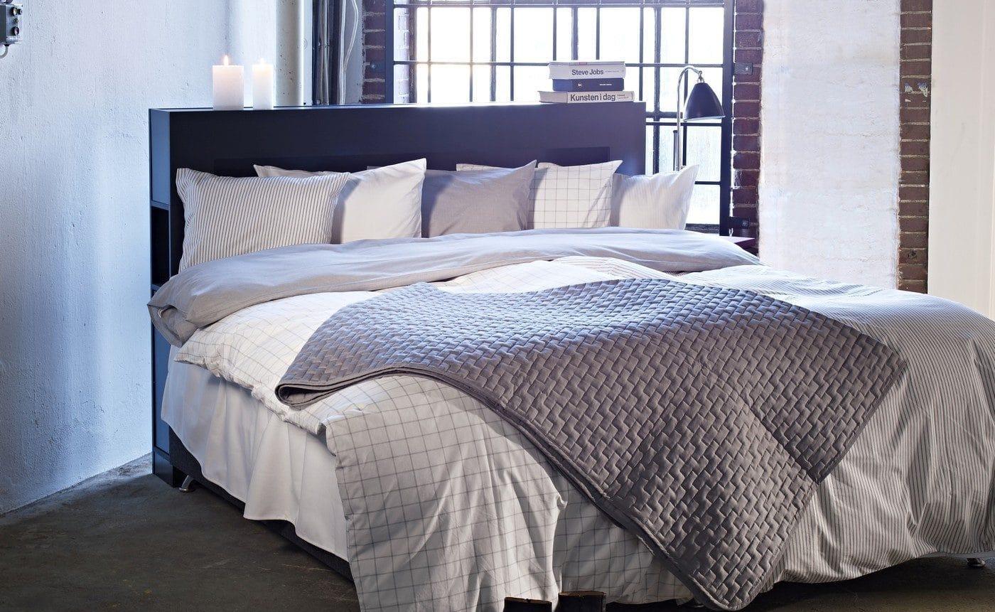 Sengegavl - 12 sengegavle til et smukt soveværelse