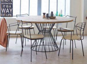 Rundt bord til 8 personer