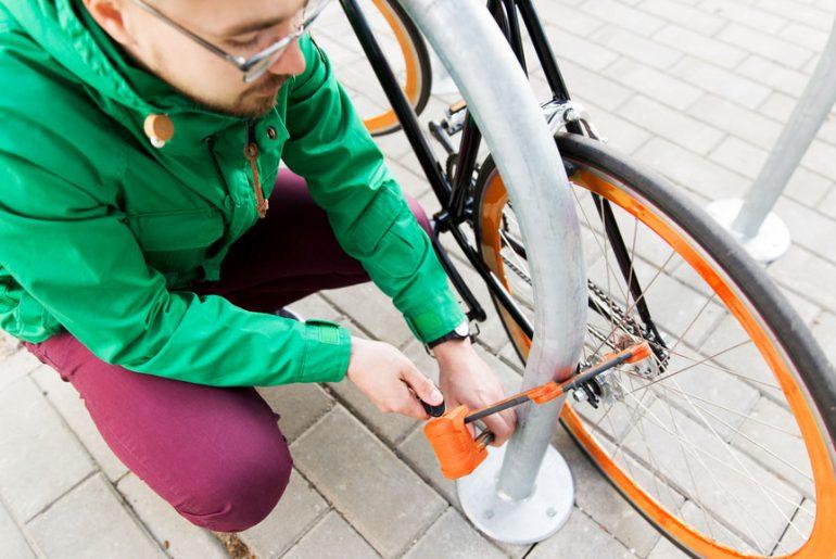 Godkendt cykellås